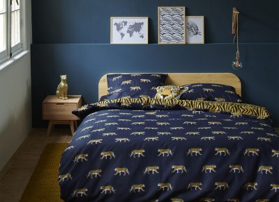 Covers & Co dekbedovertrek Machli dark blue
