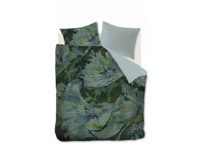 Kardol & Verstraten dekbedovertrek Enlighted green