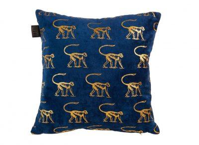 Kaat sierkussen Monkey blue