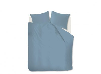 Beddinghouse dekbedovertrek Basic bluegrey