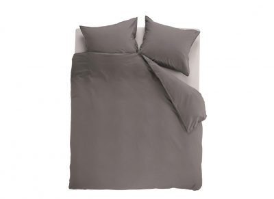 Beddinghouse dekbedovertrek Basic grey