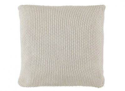 Marc O'Polo sierkussen Nordic Knit oatmeal 50x50
