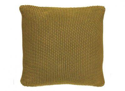 Marc O'Polo sierkussen Nordic Knit oil yellow 50x50