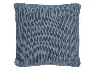 Marc O'Polo sierkussen Nordic Knit smoke blue 50x50
