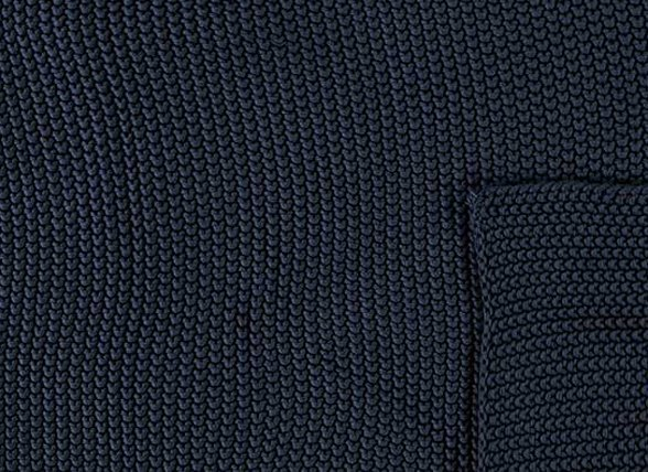 Marc O'Polo plaid Nordic Knit indigo blue