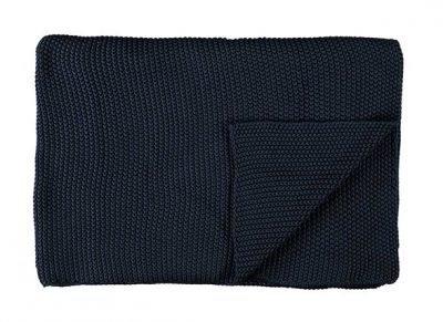 Marc O'Polo plaid Nordic Knit indigo blue