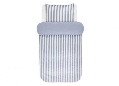 Marc O'Polo dekbedovertrek Classic Stripe pastel blue