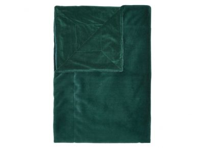 Essenza Home plaid Furry pine green
