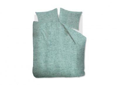 Beddinghouse dekbedovertrek flanel Frost green