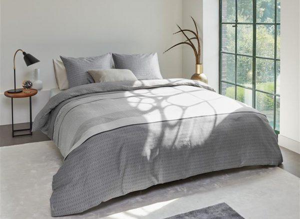 Beddinghouse dekbedovertrek Dorette grey