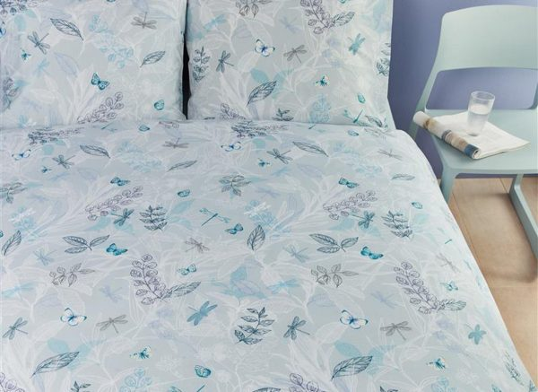 Beddinghouse dekbedovertrek Dragonfly blue