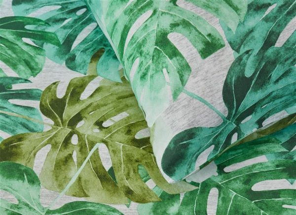 Beddinghouse dekbedovertrek Hawaii green