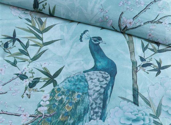 Beddinghouse dekbedovertrek Mei Li blue green