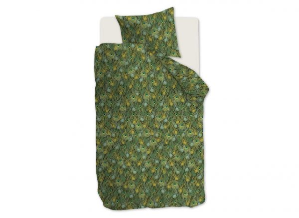 Beddinghouse dekbedovertrek Peafowl green
