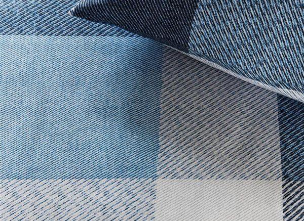 Beddinghouse dekbedovertrek Rohan blue