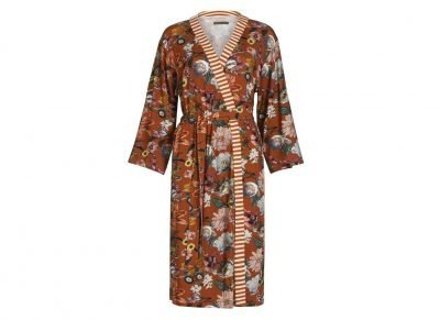 Essenza Home kimono Sarai Filou leather brown