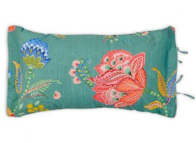 Pip Studio sierkussen Jambo Flower green 35×60