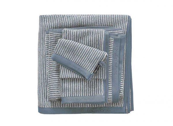 Marc O'Polo badgoed Timeless Tone Stripe smoke blue/off white