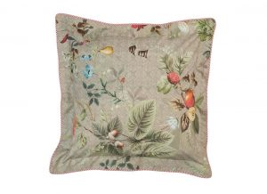 Pip Studio sierkussen Fall in Leaf khaki 45x45