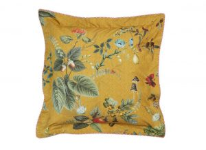Pip Studio sierkussen Fall in Leaf yellow 45x45