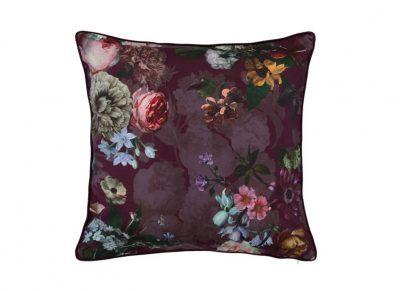 Essenza Home sierkussen Fleur burgundy