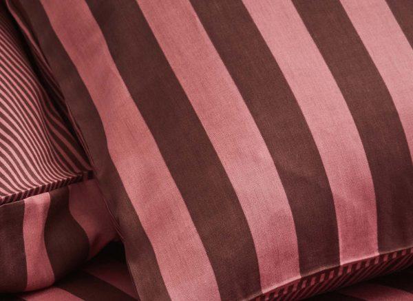 Marc O'Polo dekbedovertrek Classic Stripe warm earth