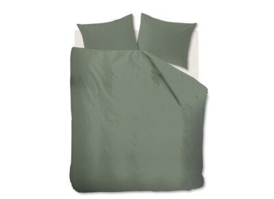 Beddinghouse dekbedovertrek Basic green
