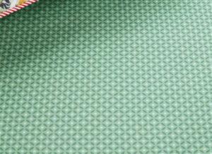 Pip Studio hoeslaken Cross Stitch green