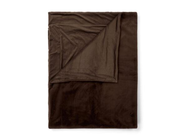 Essenza Home plaid Furry chocolate