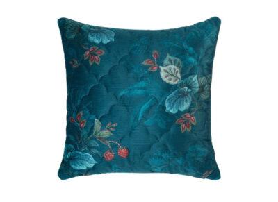 Pip Studio sierkussen Leafy Stitch blue 45×45
