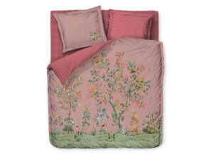 Pip Studio dekbedovertrek Wild and Tree pink