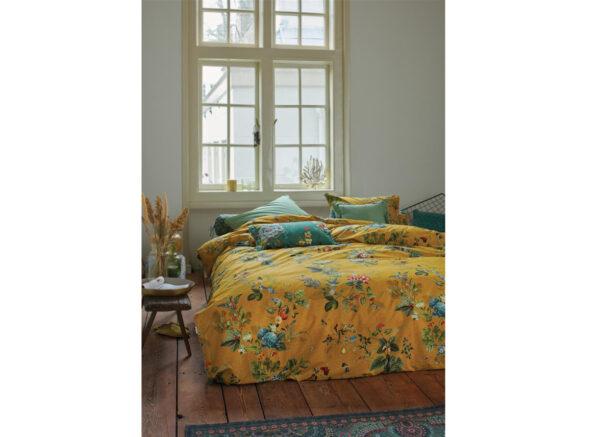 Pip Studio dekbedovertrek Fall in Leaf yellow