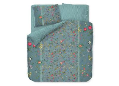 Pip Studio dekbedovertrek Petites Fleurs blauw