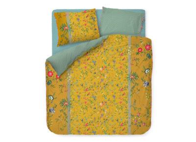 Pip Studio dekbedovertrek Petites Fleurs geel