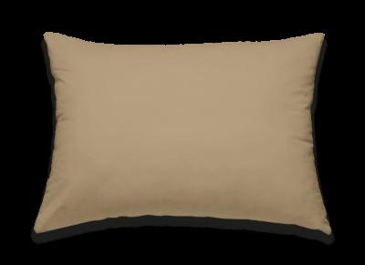Morph Design kussensloop, perkal katoen 200tc, khaki