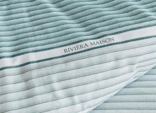 Riviera Maison dekbedovertrek Pleaty green