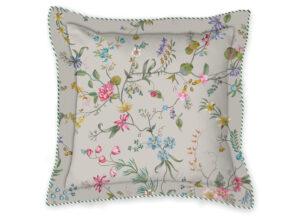 Pip Studio sierkussen Petites Fleurs khaki 45×45