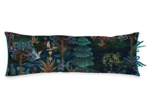Pip Studio sierkussen Garden dark blue 30x90 cm
