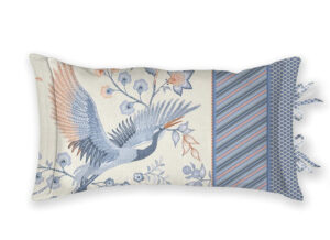 Pip Studio sierkussen Royal Birds blue 35×60